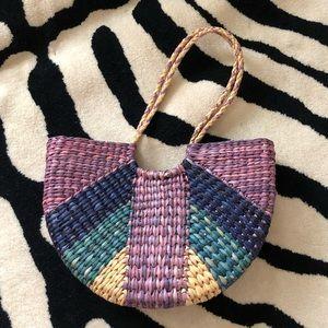 Colorful summer bag
